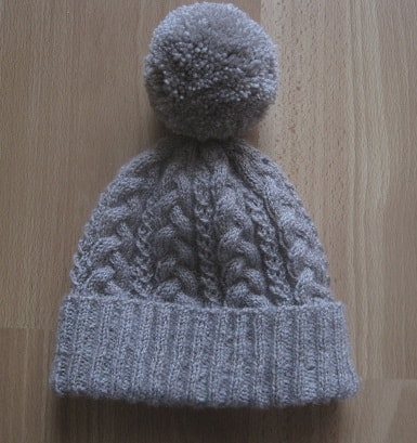 Super Cosy Cabled Beanie Hat